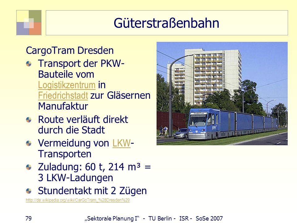 Güterstraßenbahn CargoTram Dresden