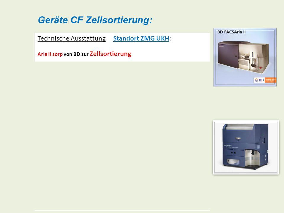 Geräte CF Zellsortierung: