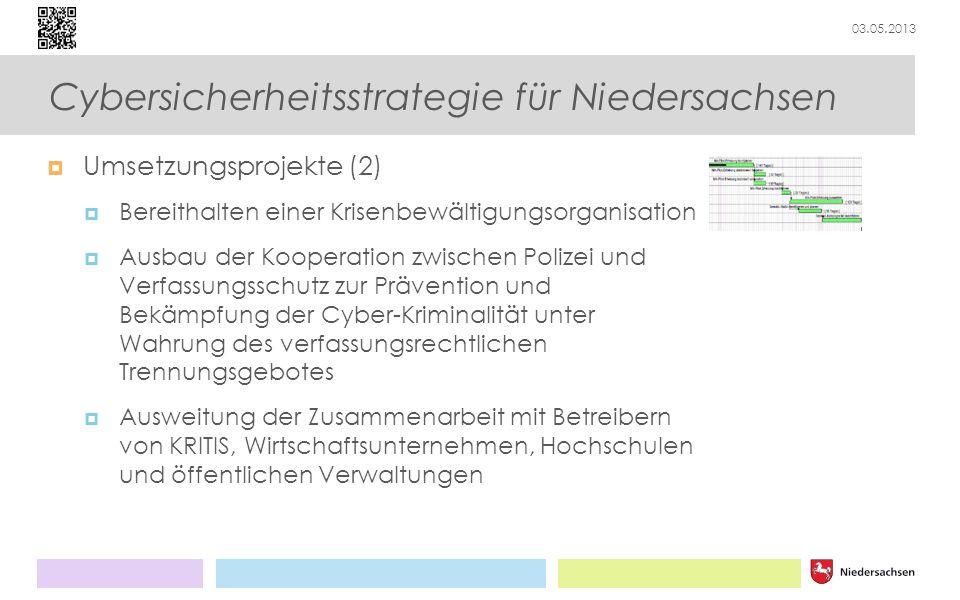 Cybersicherheitsstrategie für Niedersachsen