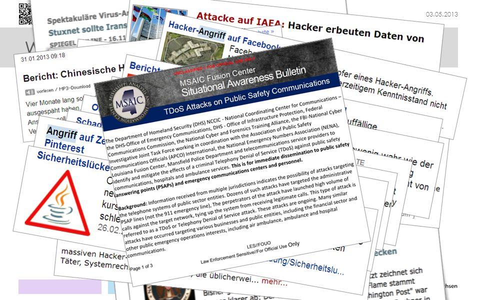 """Was ist """"Cybersicherheit"""