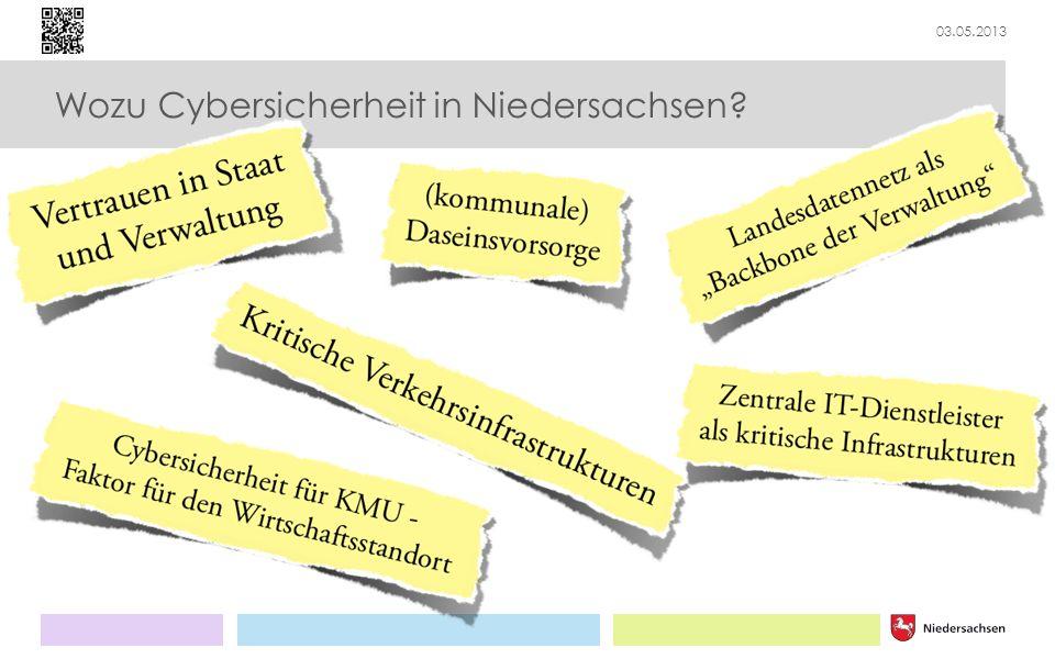 Wozu Cybersicherheit in Niedersachsen