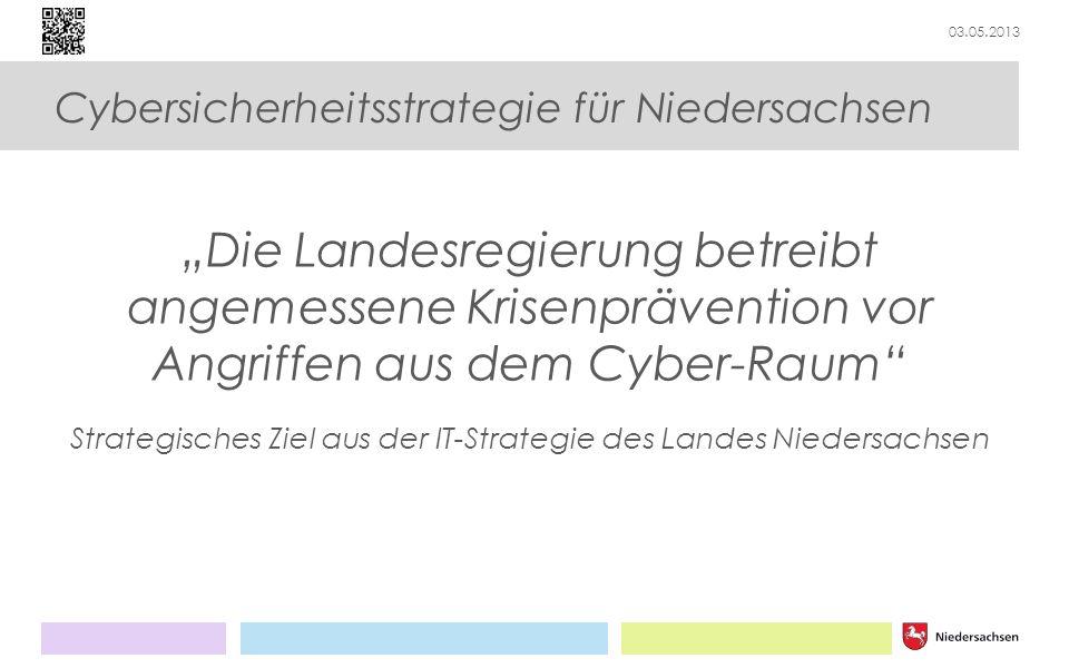 Strategisches Ziel aus der IT-Strategie des Landes Niedersachsen