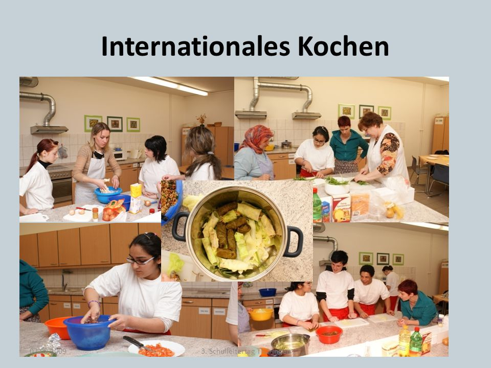 Internationales Kochen