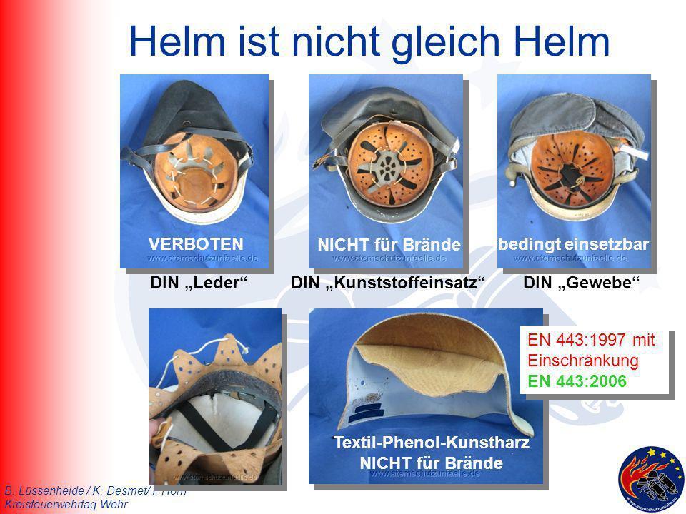 Helm ist nicht gleich Helm