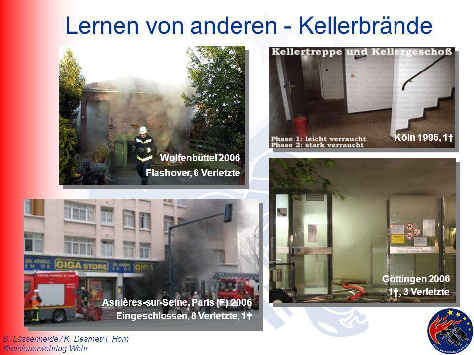 Lernen von anderen - Kellerbrände