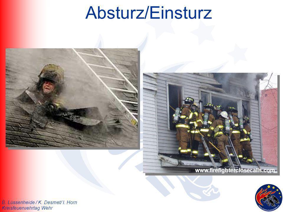 Absturz/Einsturz www.firefighterclosecalls.com