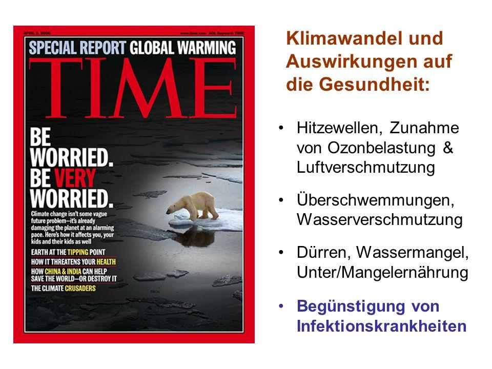 Klimawandel und Auswirkungen auf die Gesundheit:
