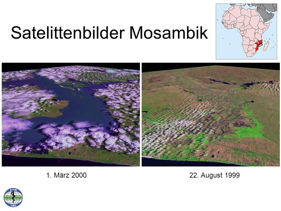 Satelittenbilder Mosambik