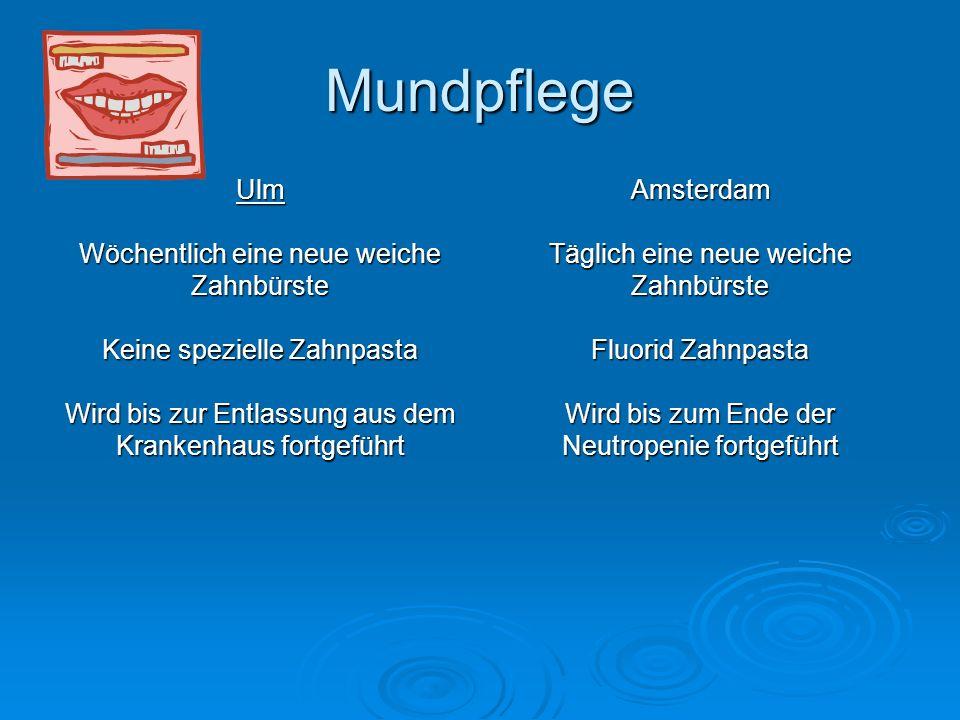 Mundpflege Ulm Wöchentlich eine neue weiche Zahnbürste