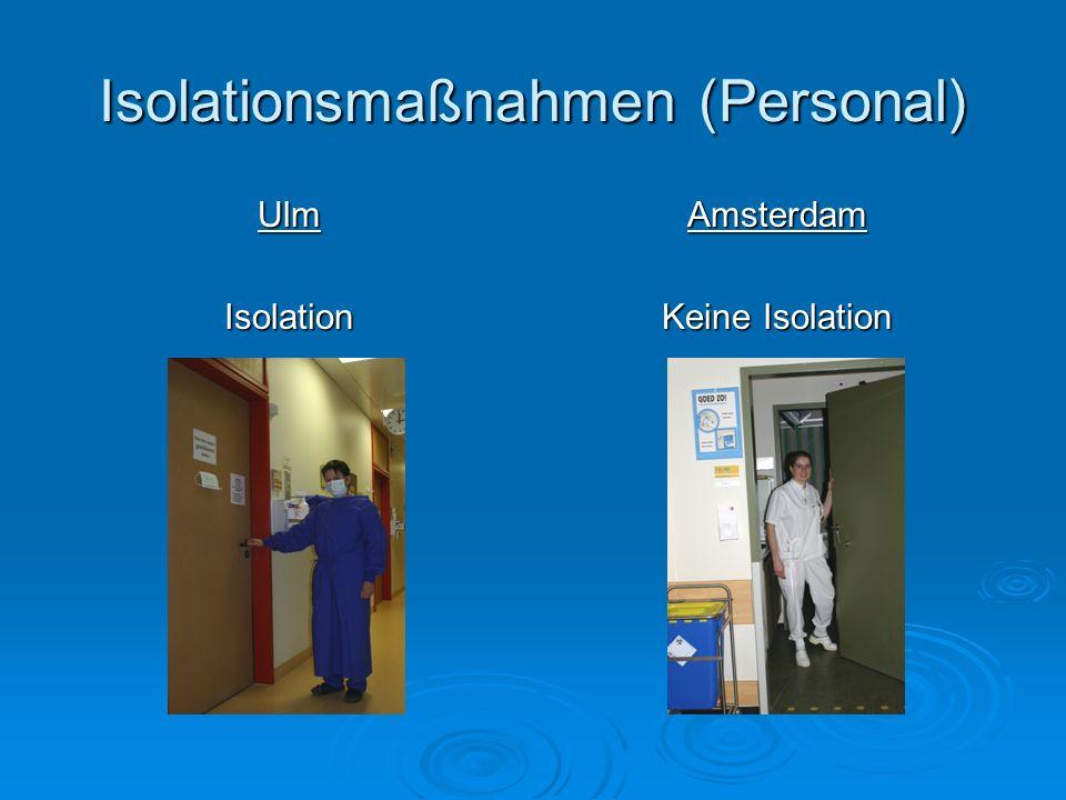 Isolationsmaßnahmen (Personal)