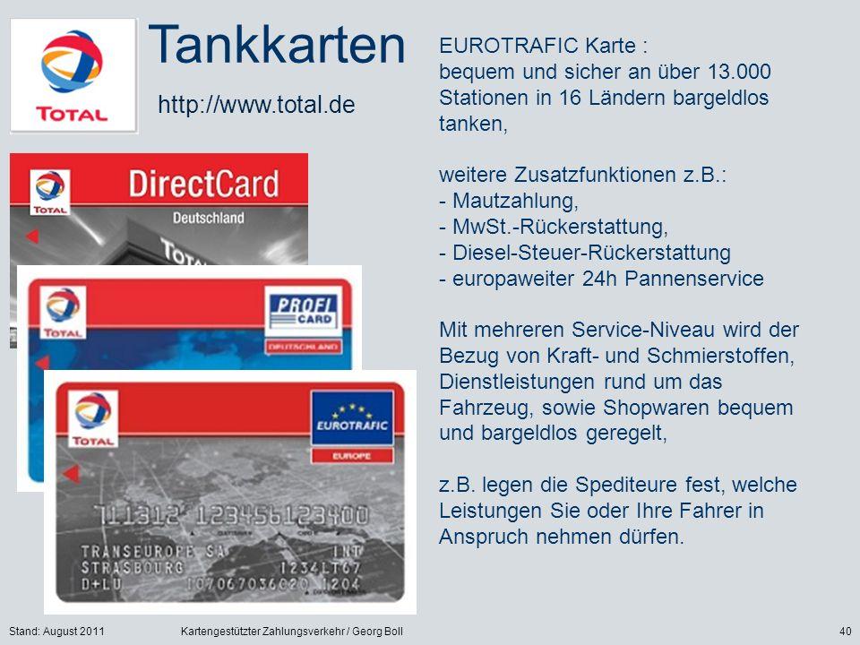 Tankkarten http://www.total.de