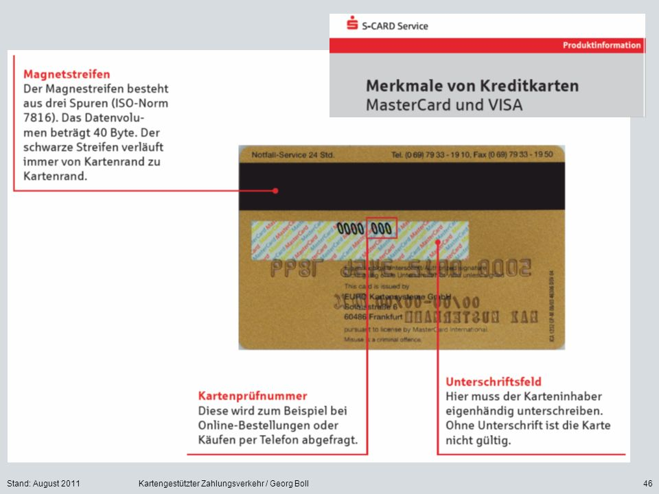 schwarze visa karte