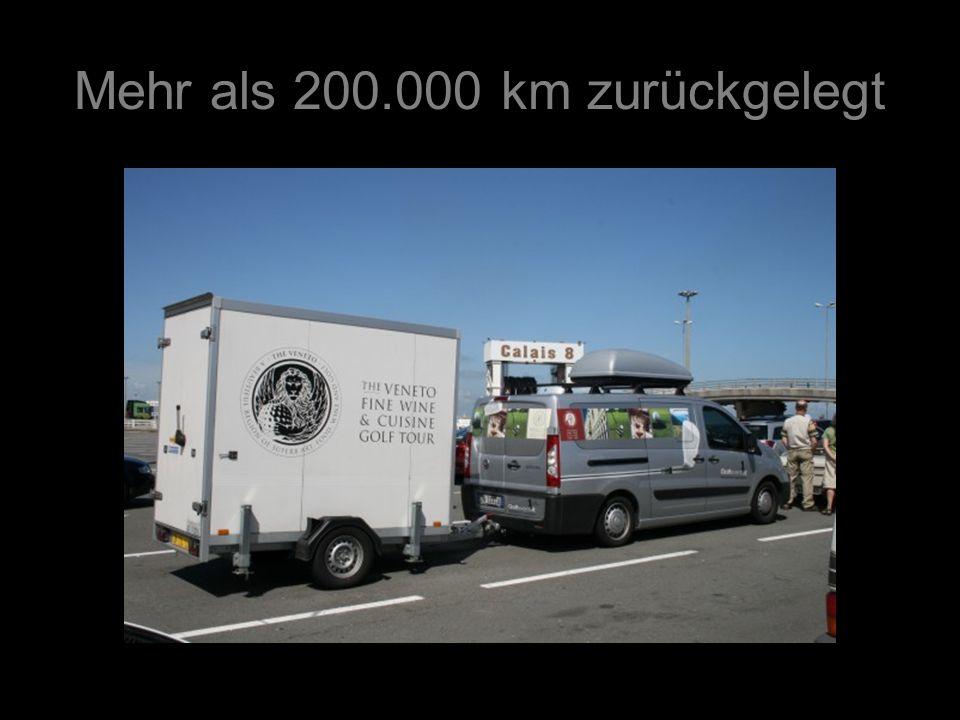 Mehr als 200.000 km zurückgelegt