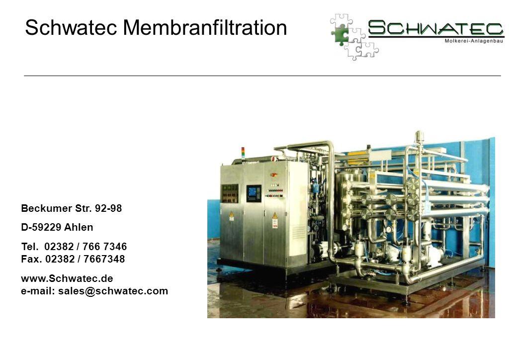 Schwatec Membranfiltration