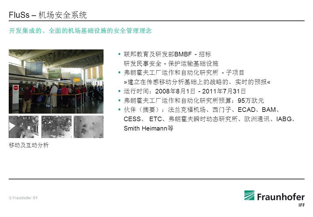 FluSs – 机场安全系统 开发集成的、全面的机场基础设施的安全管理理念