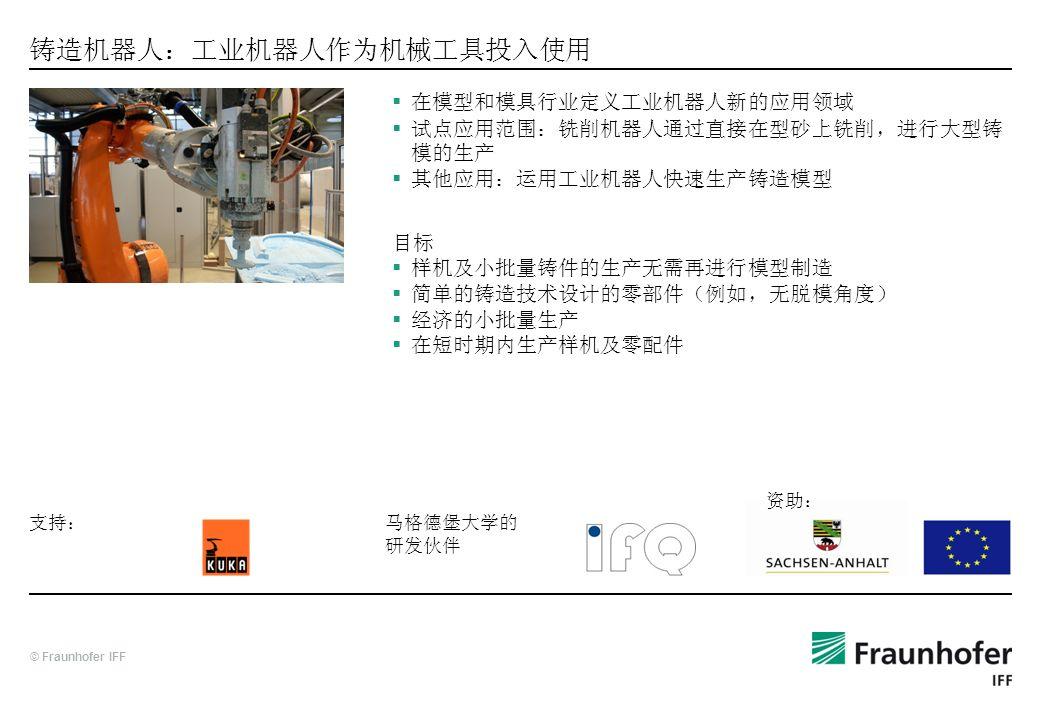 铸造机器人:工业机器人作为机械工具投入使用