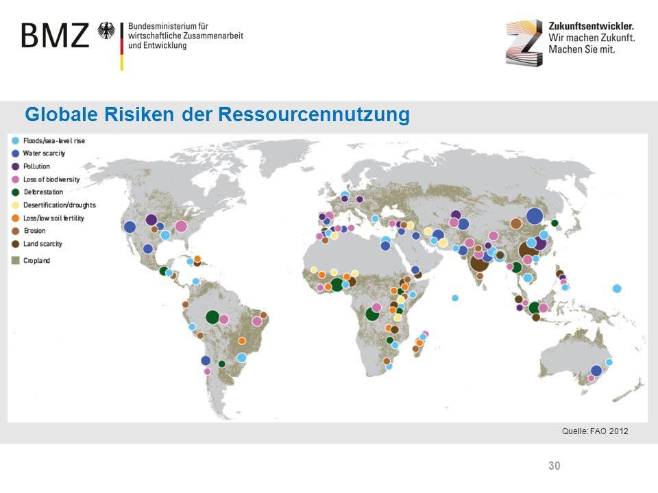 Globale Risiken der Ressourcennutzung