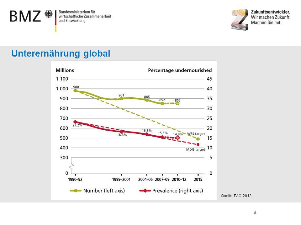 Unterernährung global