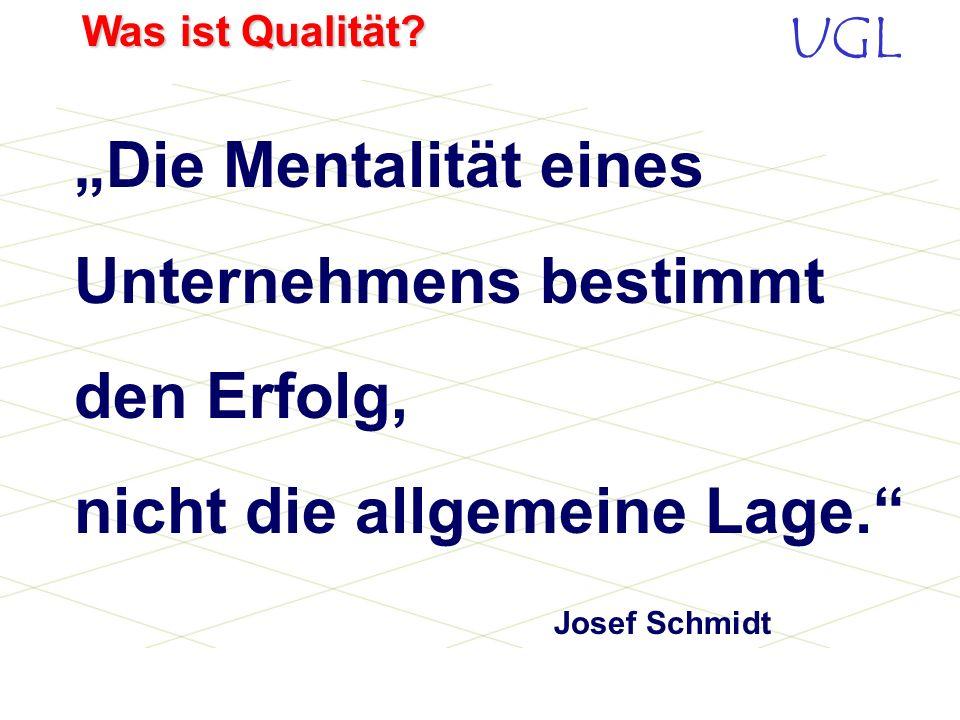 """""""Die Mentalität eines Unternehmens bestimmt den Erfolg, nicht die allgemeine Lage. Josef Schmidt"""