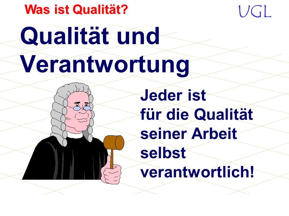 Qualität und Verantwortung
