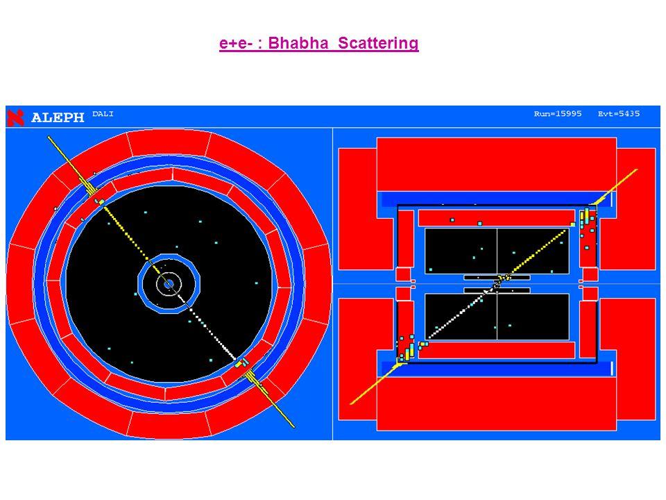 e+e- : Bhabha_Scattering