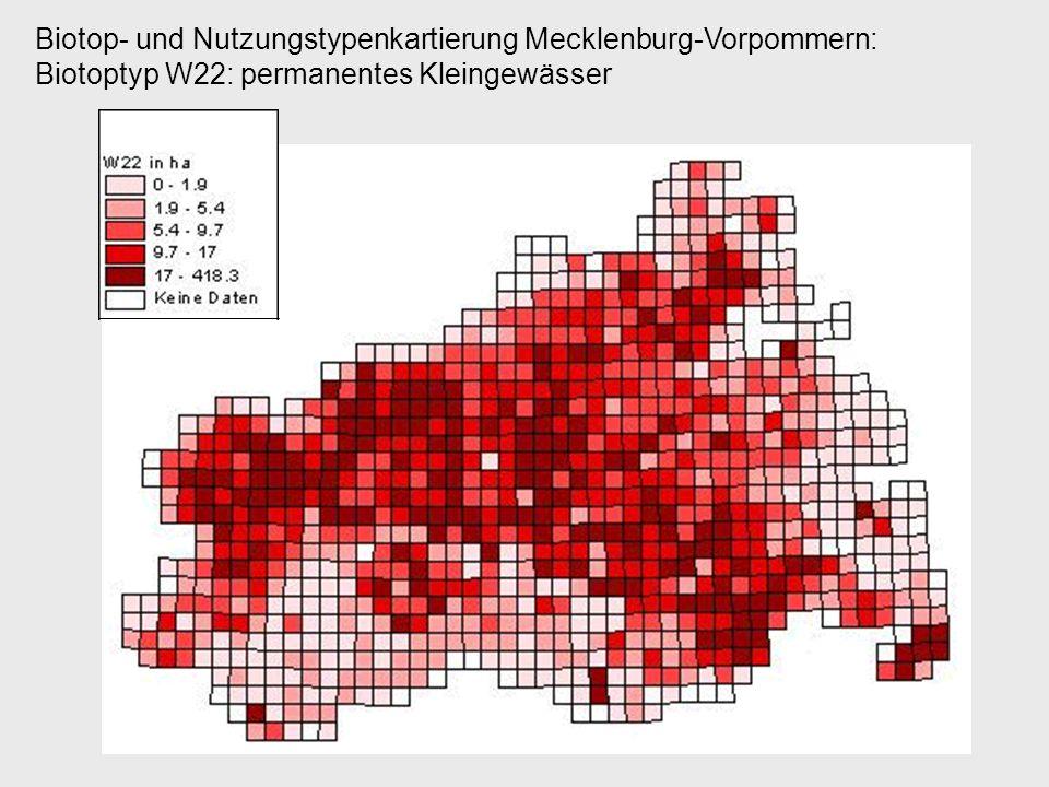 Biotop- und Nutzungstypenkartierung Mecklenburg-Vorpommern: