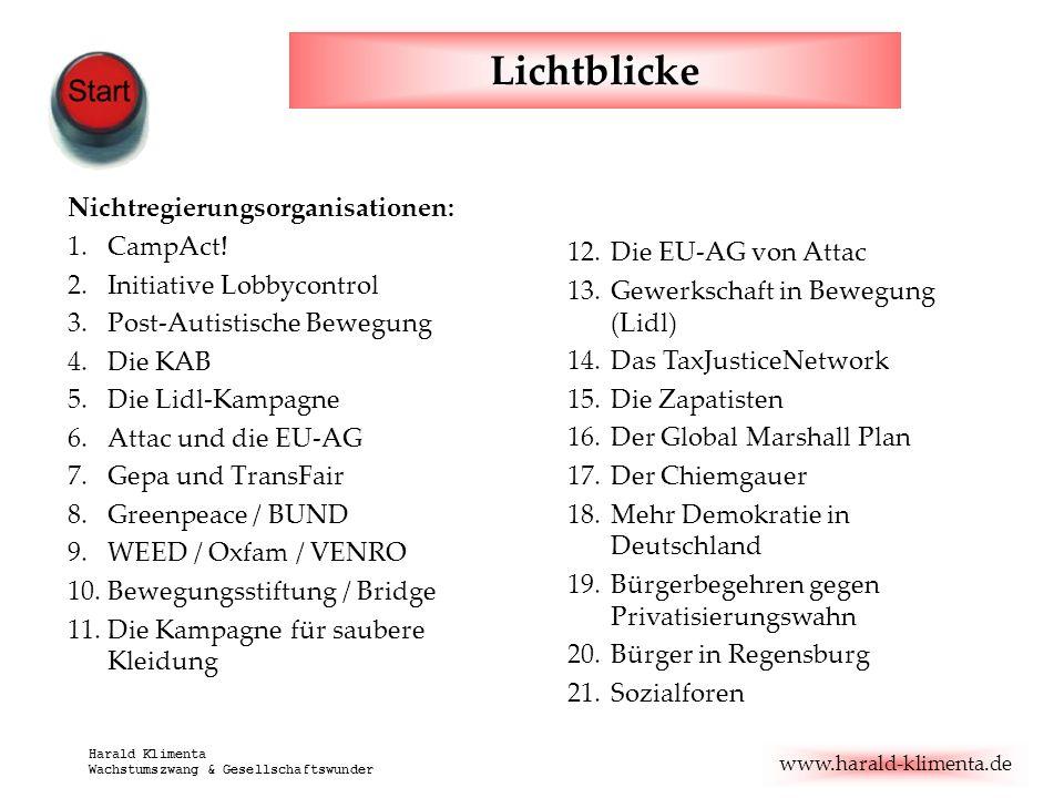 Lichtblicke Nichtregierungsorganisationen: CampAct!