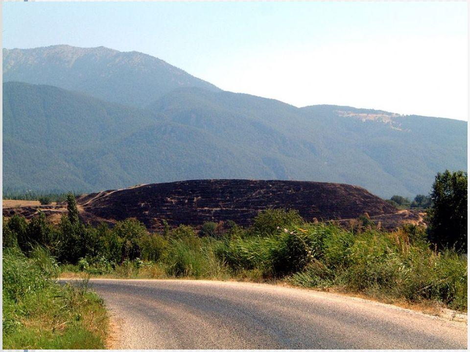 Die Ruinen von Kolossä Photo von der Homepage http://www.holylandphotos.org - eine ausgezeichnete HP.