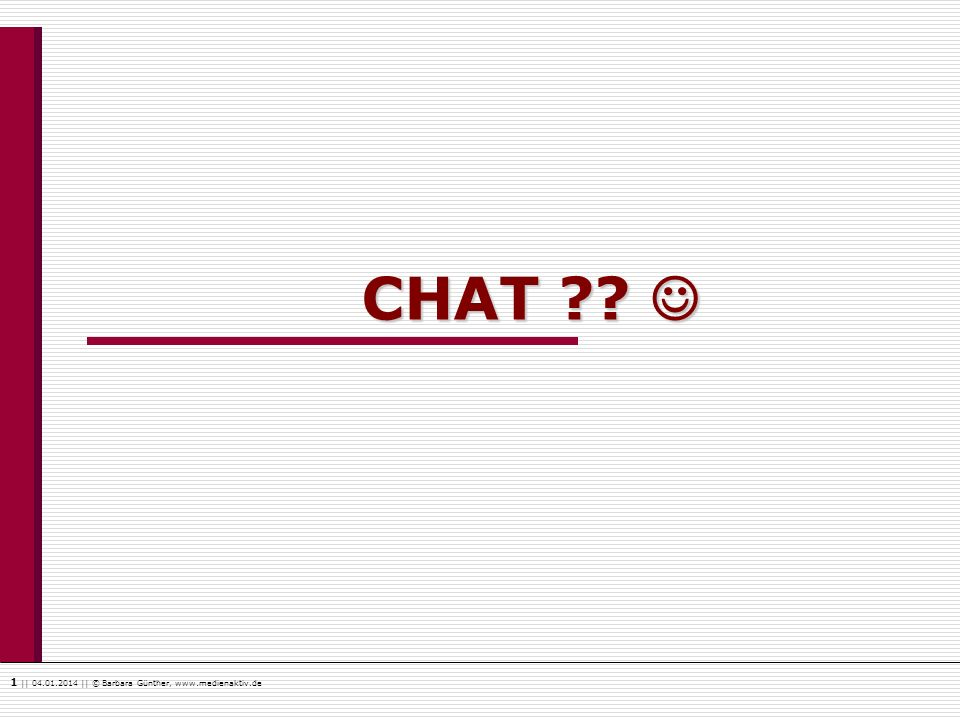 CHAT 