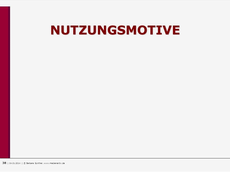 NUTZUNGSMOTIVE