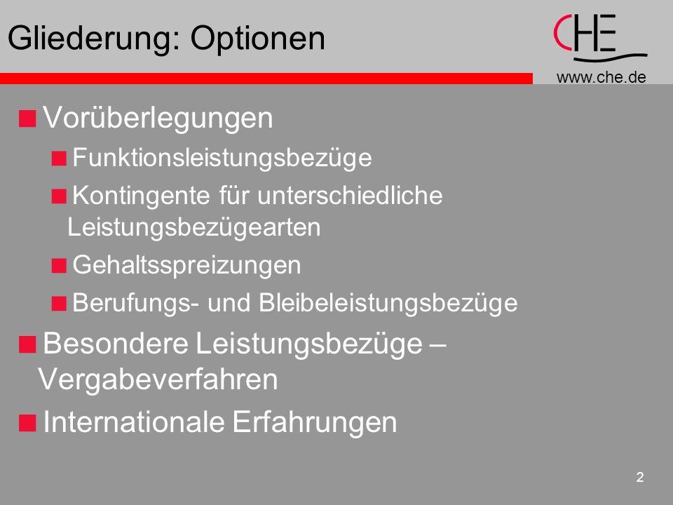 Gliederung: Optionen Vorüberlegungen