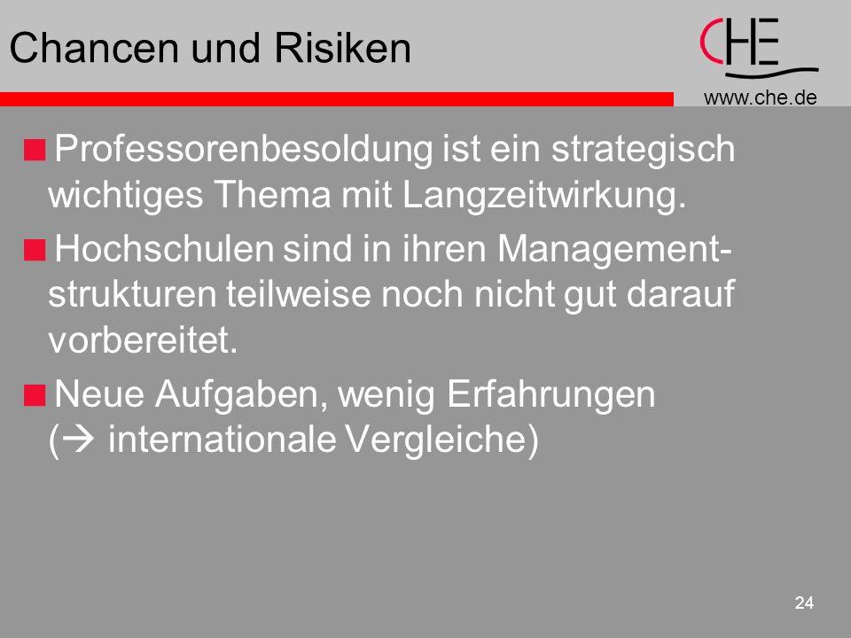 Chancen und RisikenProfessorenbesoldung ist ein strategisch wichtiges Thema mit Langzeitwirkung.