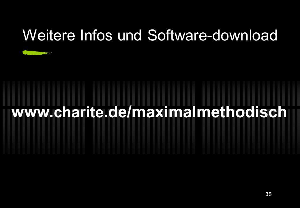 Weitere Infos und Software-download