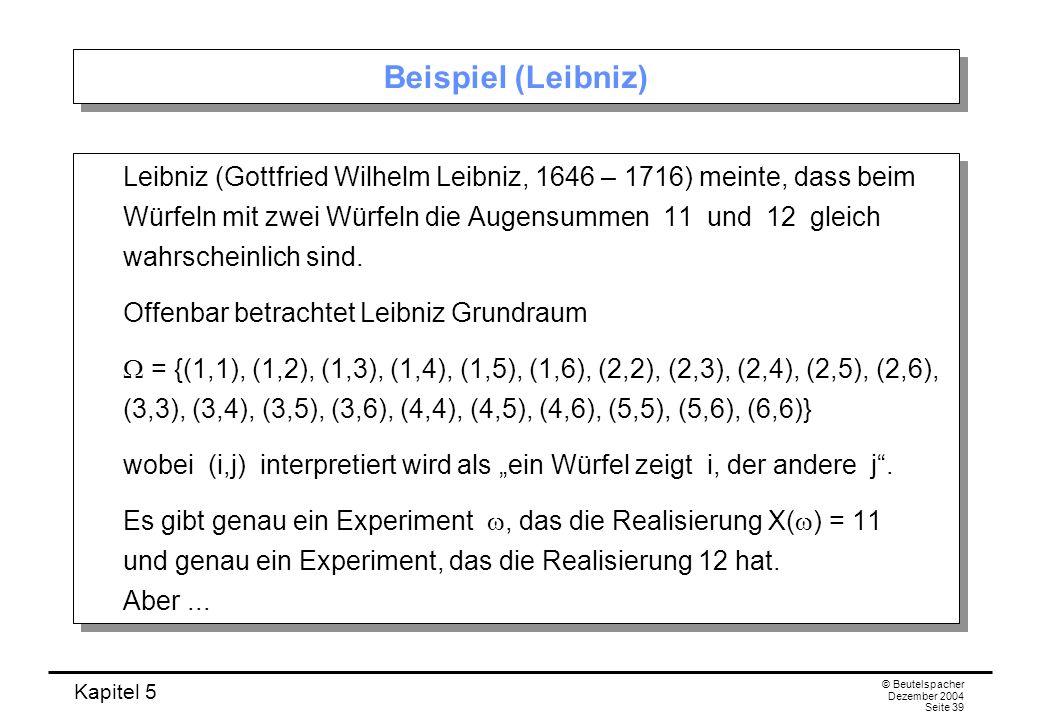 Beispiel (Leibniz)