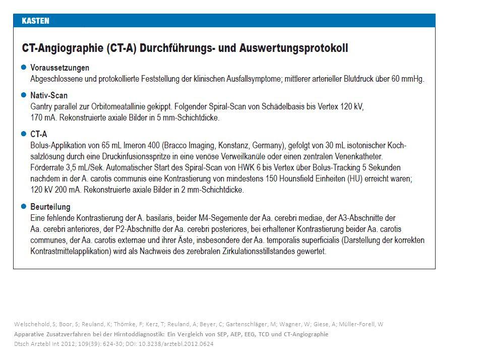 Welschehold, S; Boor, S; Reuland, K; Thömke, F; Kerz, T; Reuland, A; Beyer, C; Gartenschläger, M; Wagner, W; Giese, A; Müller-Forell, W