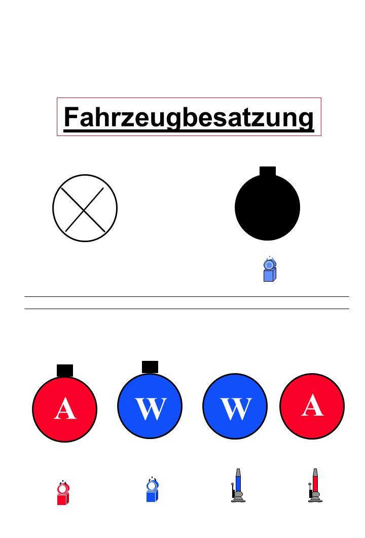 Fahrzeugbesatzung A A W W