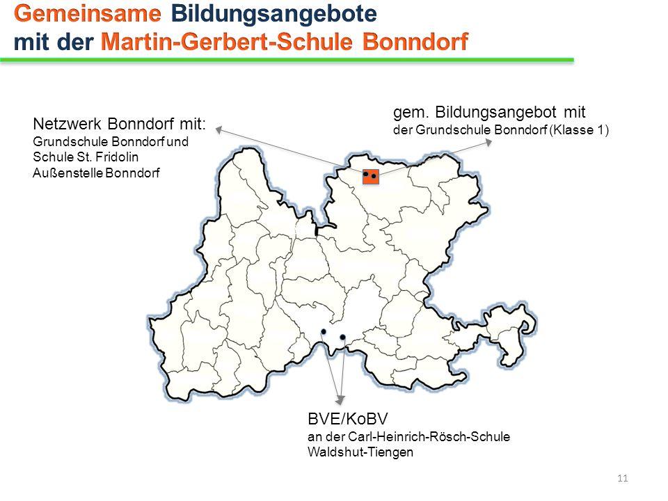 Gemeinsame Bildungsangebote mit der Martin-Gerbert-Schule Bonndorf