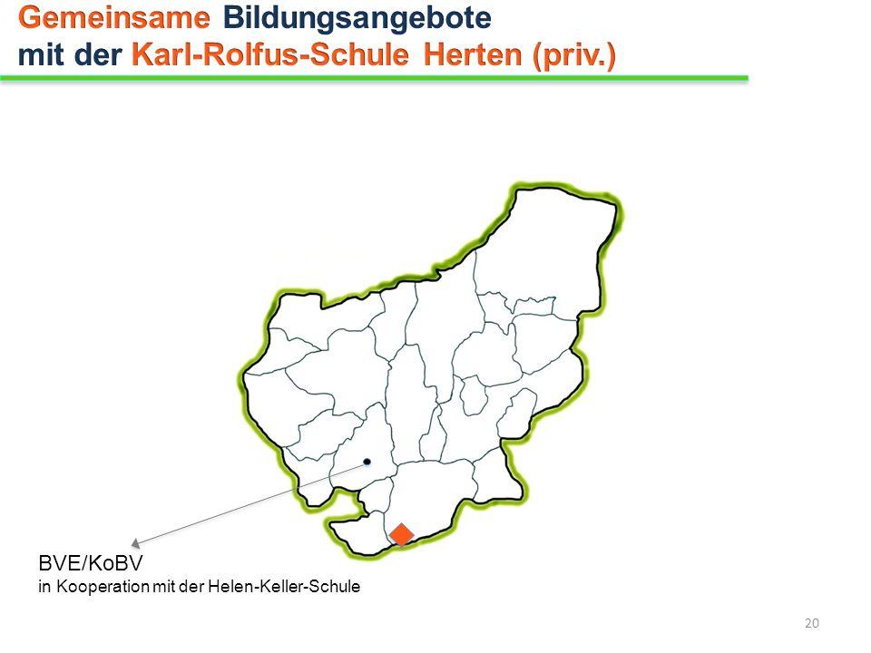 Gemeinsame Bildungsangebote mit der Karl-Rolfus-Schule Herten (priv.)