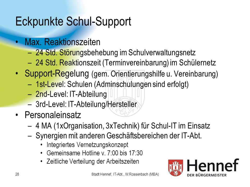 Eckpunkte Schul-Support