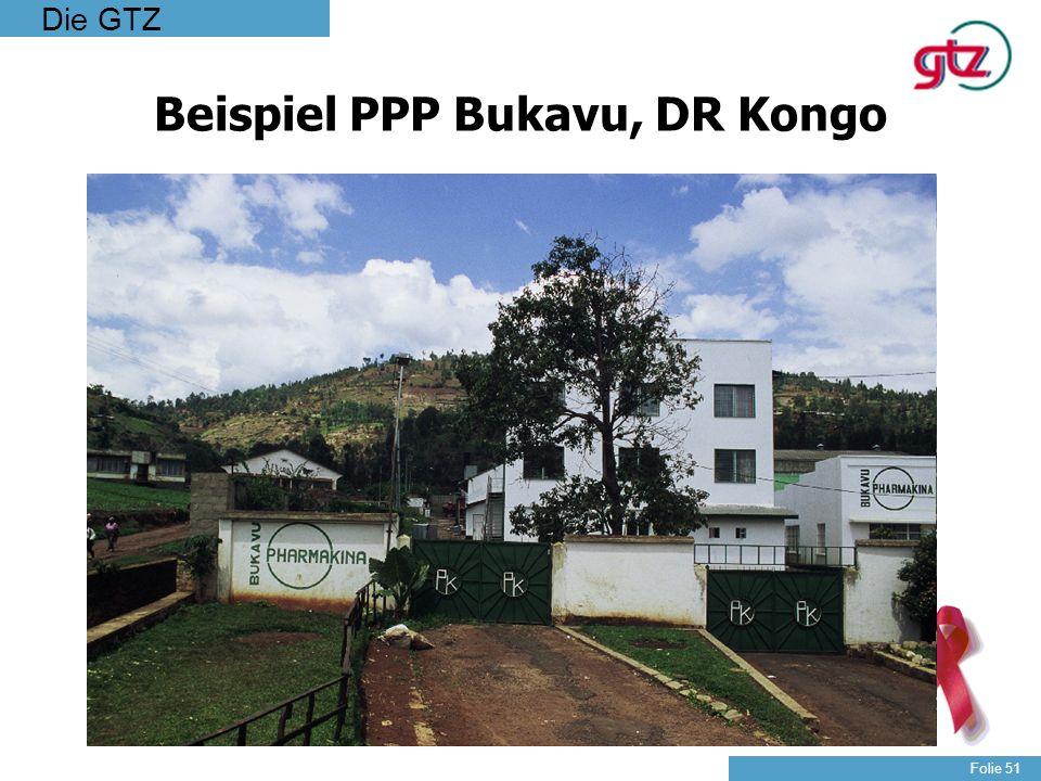 Beispiel PPP Bukavu, DR Kongo