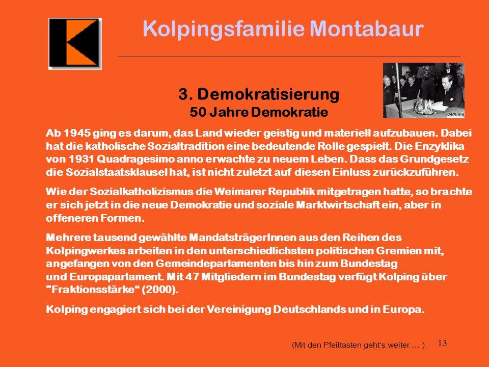 3. Demokratisierung 50 Jahre Demokratie