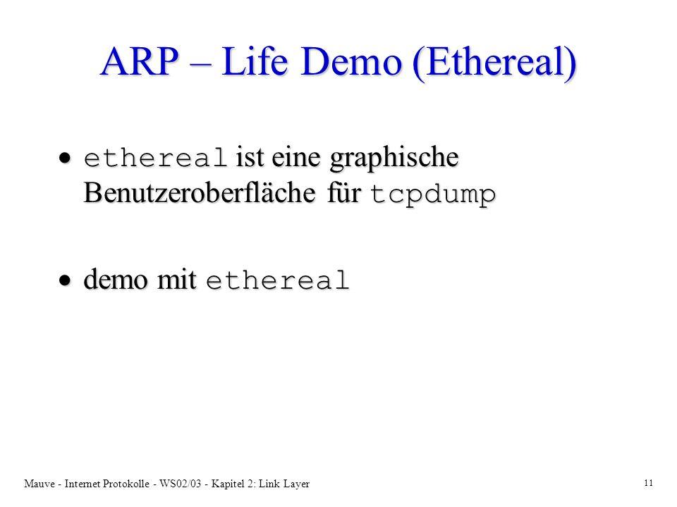 ARP – Life Demo (Ethereal)