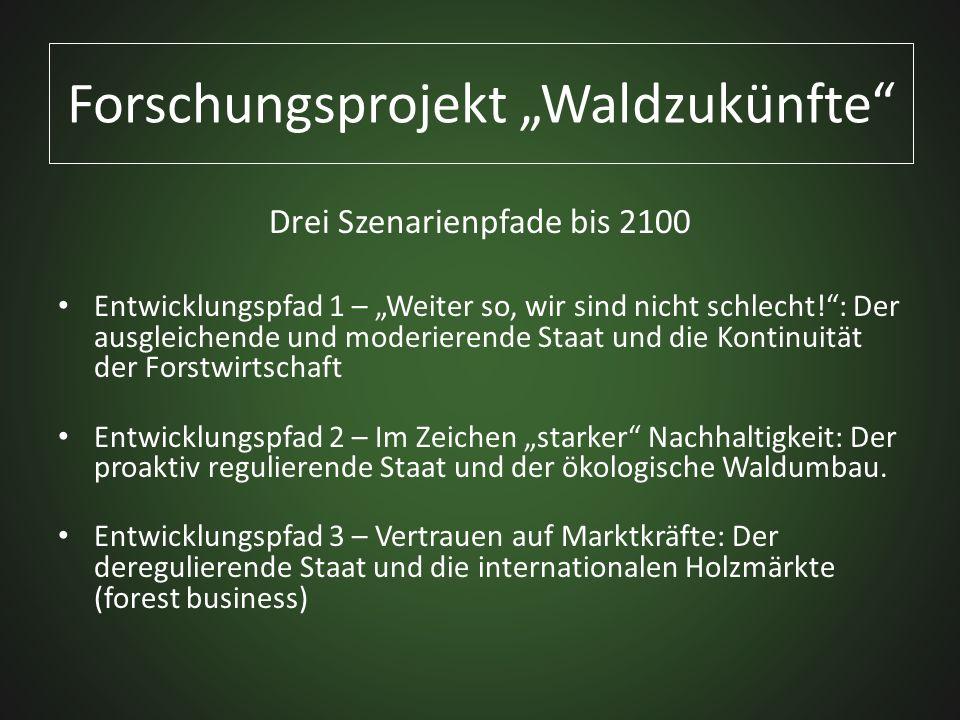 """Forschungsprojekt """"Waldzukünfte"""