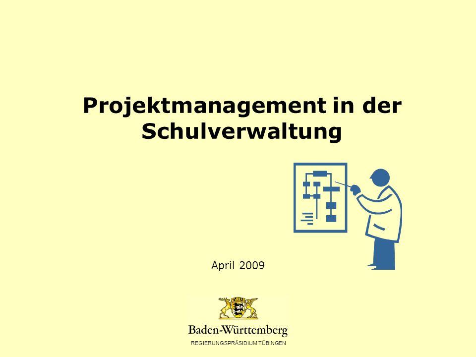 Projektmanagement in der Schulverwaltung