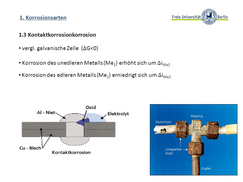 1.3 Kontaktkorrosionkorrosion