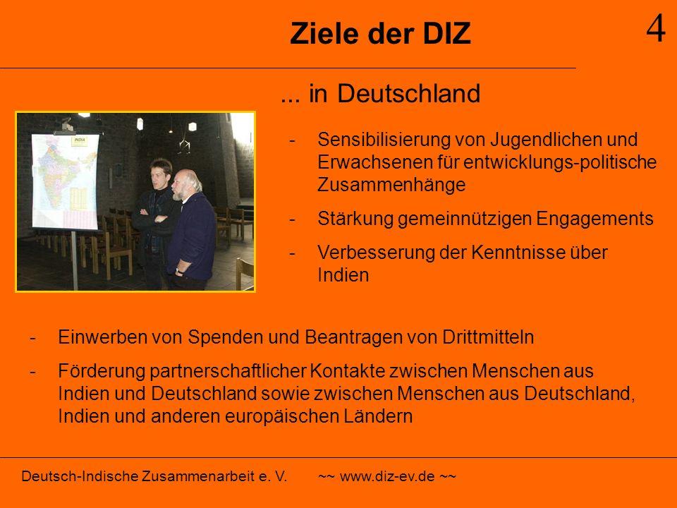 4 Ziele der DIZ ... in Deutschland