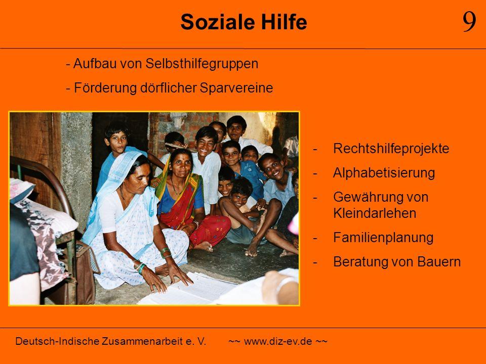 9 Soziale Hilfe - Aufbau von Selbsthilfegruppen