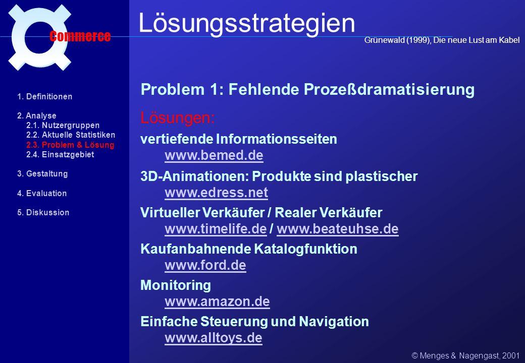 Lösungsstrategien ¤ Problem 1: Fehlende Prozeßdramatisierung Lösungen: