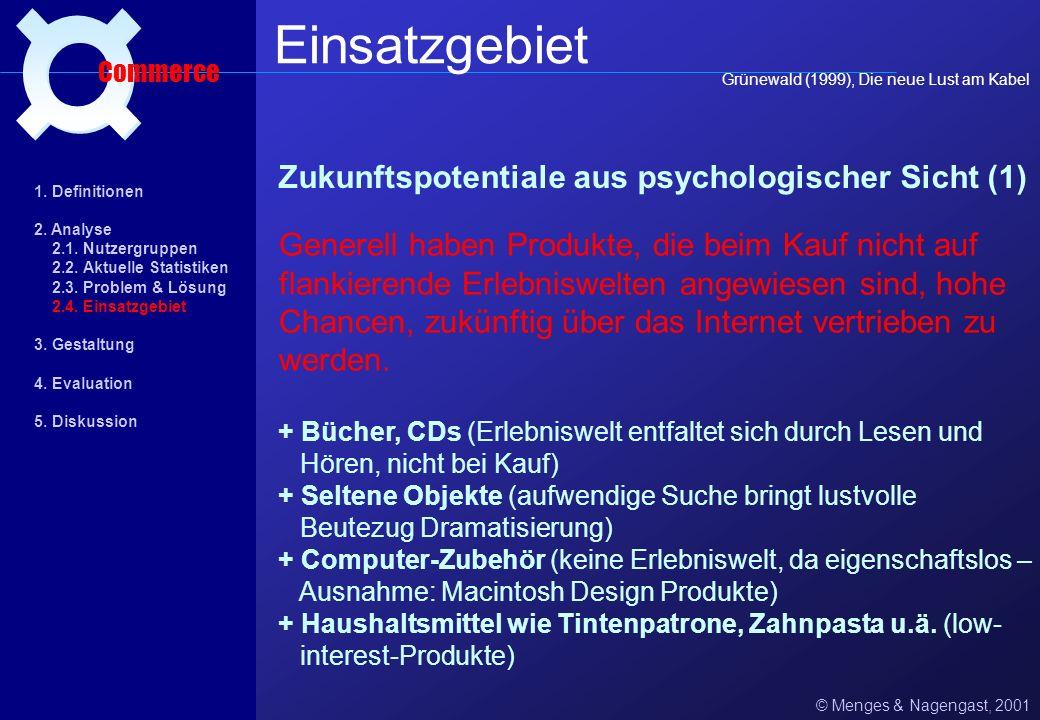 Einsatzgebiet ¤ Zukunftspotentiale aus psychologischer Sicht (1)