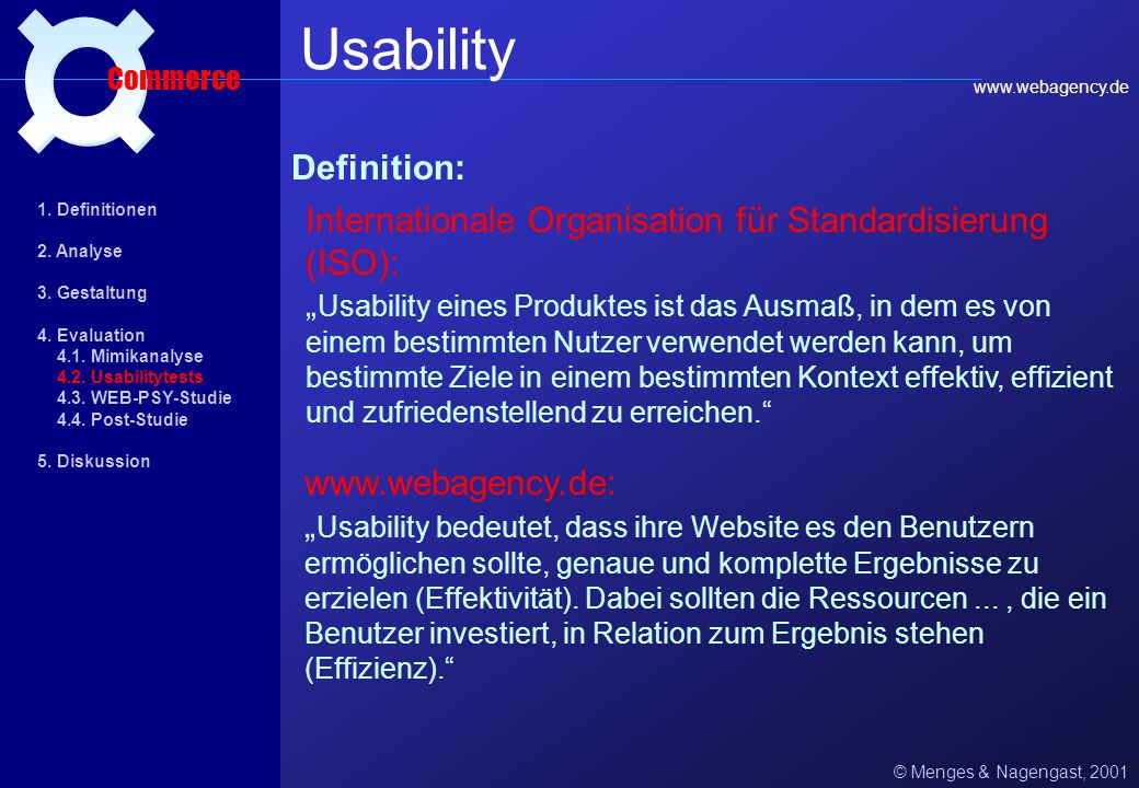 Usability ¤ Definition: